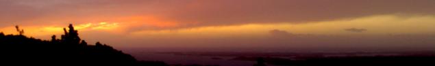 solnedgang orange