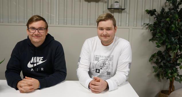 Mats Sæverud og Thomas Meling