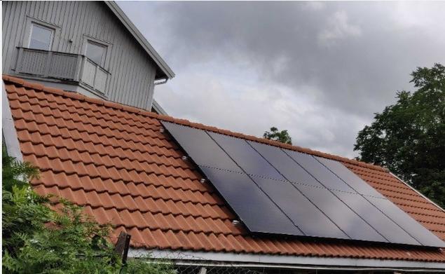 Standard solcellepanel